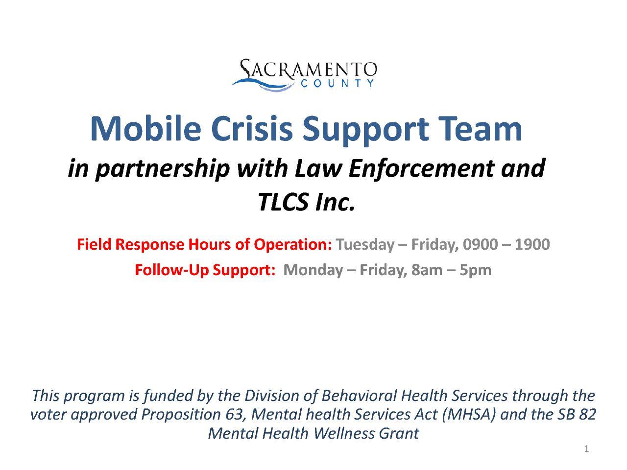 Presentations Sacramento County Opioid Coalition